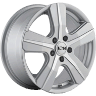 Ion Wheels<br/> 101 Silver with Machined Face