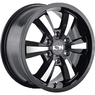 Ion Wheels<br/> 103 Gloss Black with Machined Face