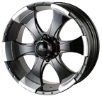 Ion Wheels <br/>136 Black Machined