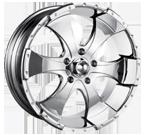 Ion Wheels <br/>136 Chrome