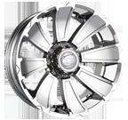 Ion Wheels <br/>180 Chrome