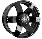 Ion Wheels <br/>185 Matte Black