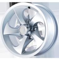 Ion Alloy Trailer 16 Hypersilver Wheels