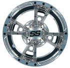 ITP SS Alloy 112 Wheels Chrome