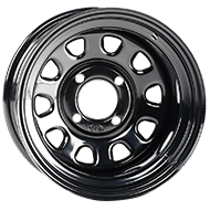 ITP Delta Steel Black Wheels