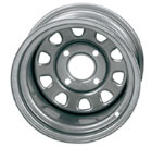 ITP Delta Steel Silver Wheels
