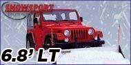 Access Snowsport LT Snow Plow - 6.8' Blade - Jeep