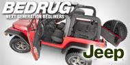 BedRug Jeep Liners