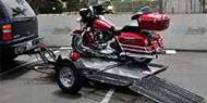 Loading and Unloading Your Motorcycle on a Kendon Trailer