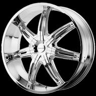 KMC KM665 Surge Chrome Wheels