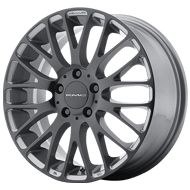 KMC Wheels <br />KM693 Pearl Gray with Gloss Black Face