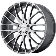 KMC Wheels <br />KM693 Pearl Gray with Brushed Face