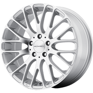 KMC Wheels <br />KM693 Silver with Machined Face
