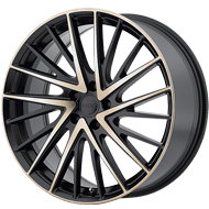 KMC Wheels <br />KM697 Newton Satin Black