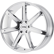 KMC KM700 Chrome Wheels