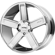 KMC KM702 Chrome Wheels