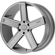 KMC KM702 Satin Grey Milled Wheels