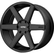 KMC KM704 Satin Black Wheels