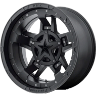 KMC Rockstar RS3 Matte Black for ATV/UTV