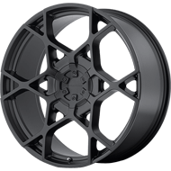 KMC Wheels <br />KM695 Satin Black