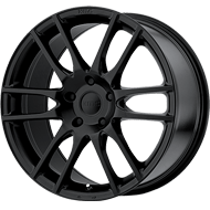 KMC Wheels <br />KM696 Pivot Satin Black