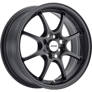 Konig Wheels <br />Helium Matte Black