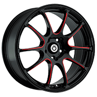 Konig Wheels <br />Illusion Red