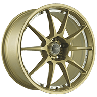 Konig Wheels <br />Milligram Gold with Machined Undercut