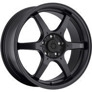 Konig Wheels <br />Backbone Matte Black