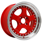Konig Wheels <br />Candy Red