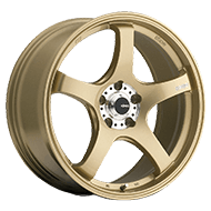 Konig Wheels <br />Centigram Gold <br />w/ Machined PCD