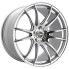 Konig Wheels <br />Torch Silver/Machined <br />w/ Ball Milled Accents