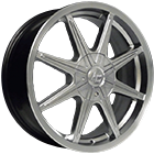 Vision Wheels <br>Kryptonite Hyper Silver