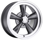 Vision Wheels <br>Legend 5 141 Gun Metal Machined