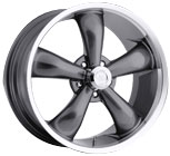 Vision Wheels <br>Legend 5 142 Gun Metal Machined