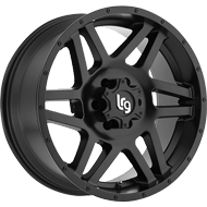 LRG Wheels <br>Classico Satin Black