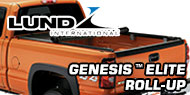 Genesis™ Elite Roll Up <br>Lund Tonneau Covers