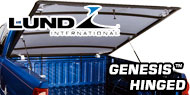 Genesis Hinged <br>Lund Tonneau Covers