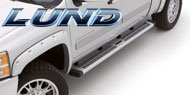 Lund <br> Summit Ridge Running Boards Chrome