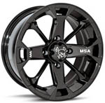 Motosport Alloys<br/> M17 Elixir (Black) ATV Wheels