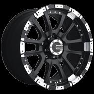 Mamba Wheels <br />584MB M12 Matte Black