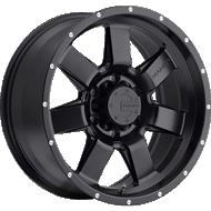 Mamba 586B M14 Matte Black Wheels