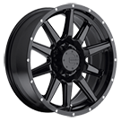 Mamba Wheels <br />587B M15 Gloss Black