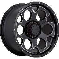 Mamba 589B M17 Gloss Black CNC Milled Accents Wheels