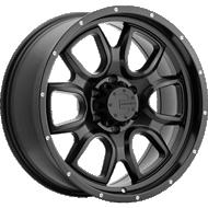 Mamba 591B M19 Matte Black Wheels