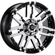 Mamba Wheels <br />582MB M2X Gloss Black
