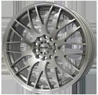 Maxxim Wheels </br> Maze Silver Machined
