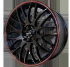 Maxxim Wheels </br> Maze Gloss Black