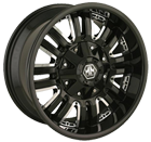 Mayhem Wheels <br> Assault 8070 Black