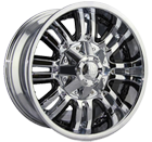 Mayhem Wheels <br> Assault 8070 Chrome